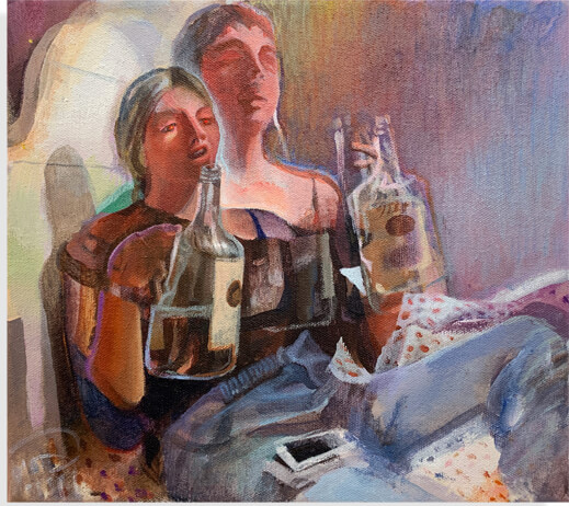 painting from artist claudia bitran